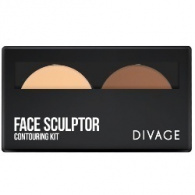 Divage Face Sculptor - Палетка крем-пудры, 4 гр