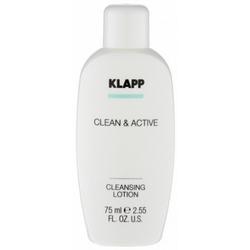 Klapp Clean And Active Cleansing Lotion - Молочко очищающее, 75 мл