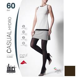 Ibici Casual 60 Hydro - Колготки плотные цвет коричневый, размер 1