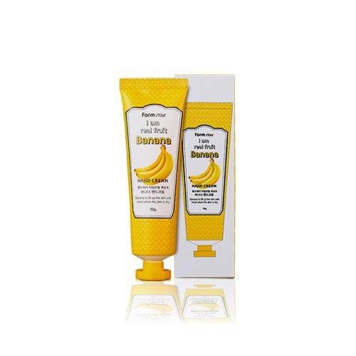 FarmStay Banana Hand Cream - Крем для рук с экстрактом банана, 100 мл