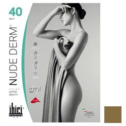 Ibici Nude 40 Derm - Прозрачные колготки цвет телесный, размер 2