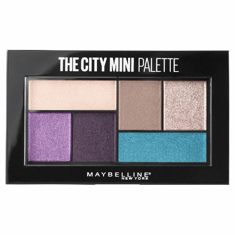 Maybelline The City Mini - Палетка теней для глаз 450 Graffiti pop 6 гр