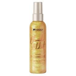 Indola Professional Blond Addict Gold Shimmer Spray - Спрей для придания золотого блеска, 150 мл