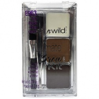 Wet&Wild Ultimate Brow Kit ash brown - Набор для бровей, тон E963