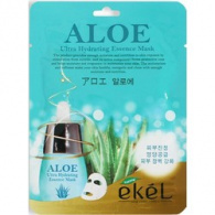 Ekel Aloe Ultra Hydrating Essence Mask - Маска тканевая с экстрактом алое, 25 г
