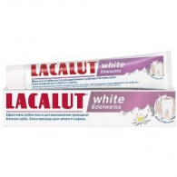 Lacalut White Edelweiss - Зубная паста, 75 мл