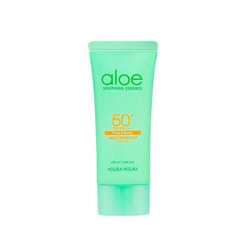 Holika Aloe Waterproof Sun Gel - Гель солнцезащитный алое, 100 мл