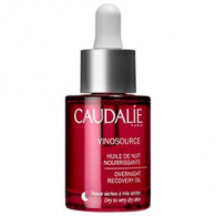 Caudalie Vinosource Overnight Oil - Масло ночное восстанавливающее, 30 мл