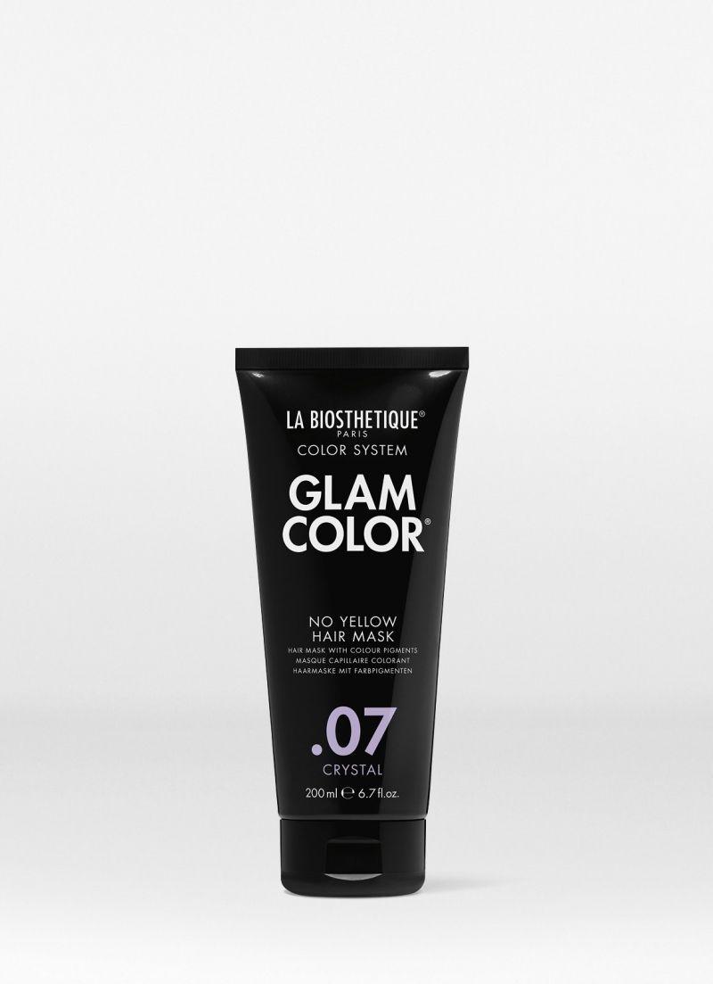 LB38249 Glam Color No Yellow Hair Mask .07 Crystal 200 мл Тонирующая маска для волос