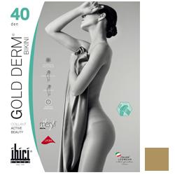 Ibici Gold 40 Derm Bikini - Прозрачные колготки цвет светло-телесный, размер 2