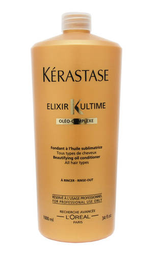 Kerastase -Молочко для красоты всех типов волос - Elixir Ultime, 1000 мл kerastase молочко elixir ultime