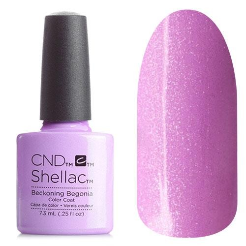 CND Shellac Garden Muse Beckoning Begonia - Гелевое покрытие # 91990, 7,3 мл