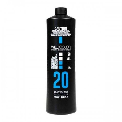 Wild Color Oxidizing Emulsion Cream OXI - Крем-эмульсия окисляющая для краски 6% OXI20 Vol. 995 мл