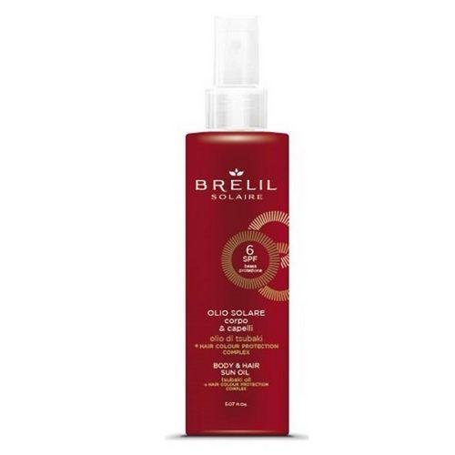 Защитое масло для волос и тела SPF 6, new150 ml