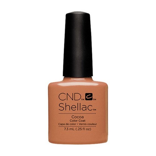 CND Shellac Cocoa - Гелевое покрытие # 014, 7,3 мл