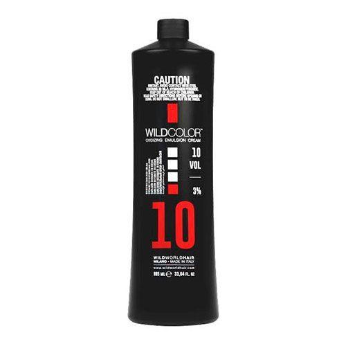 Wild Color Oxidizing Emulsion Cream OXI - Крем-эмульсия окисляющая для краски 3% OXI10 Vol. 995 мл