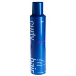 Sexy Hair Curly Curl Power Spray Foam - Спрей-мусс для усиления кудрей, 250 мл
