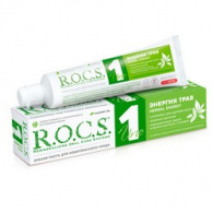 R.O.C.S. Uno Herbal Energy - Зубная паста, Энергия трав, 74 гр