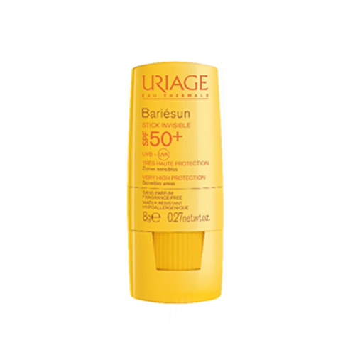 Uriage Bariesun Mineral Stick SPF50+ - Невидимый стик для чувствительных зон, 8 г