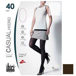 Ibici Casual 40 Hydro - Прозрачные колготки цвет лесной орех, размер 1