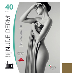 Ibici Nude 40 Derm - Прозрачные колготки цвет телесный, размер 5